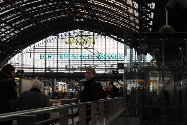 Köln Hauptbahnhof (main train station)