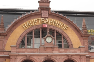 Erfurt main train station