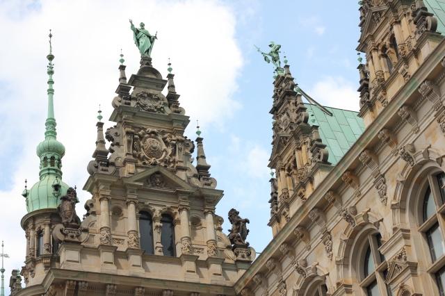 Das Verdammte Rathaus from the inner courtyard