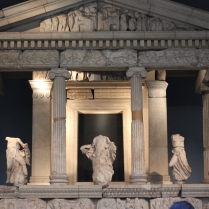 Stolen Greek pillars that the Greeks want back