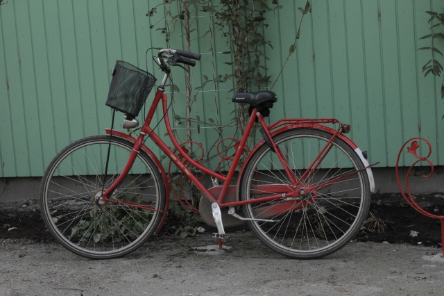 Sadly, this is not the bicycle I was on. But I wish it were.