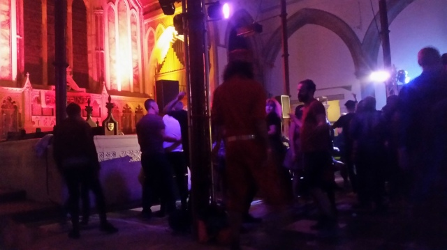 What, you mean you've never been to a queer disco late at night in the middle of an old cathedral before???