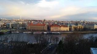View of Prague from Park Letna
